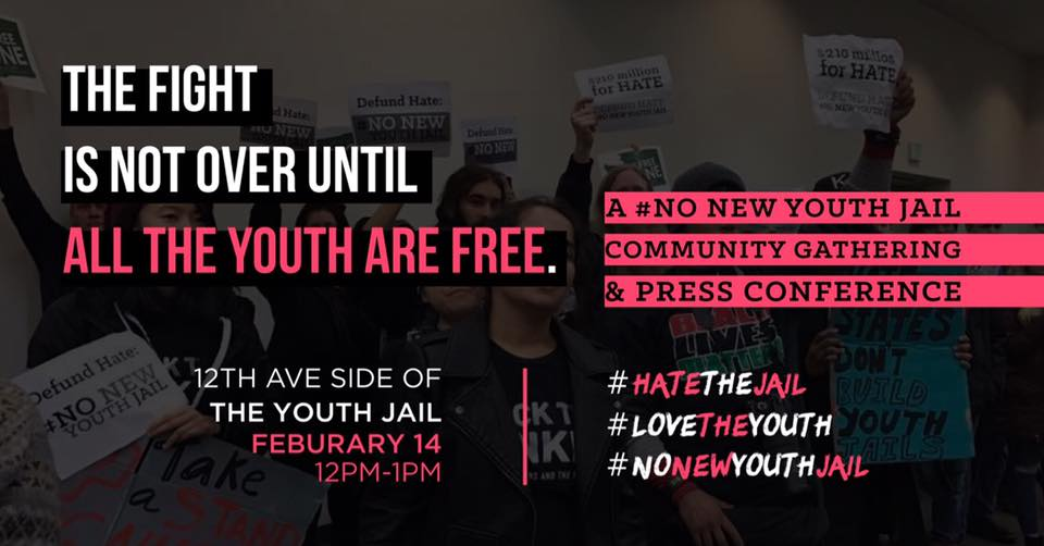 No New Youth Jail Event Photo